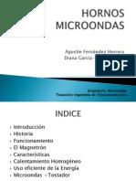 PRESENTACION HORNOS MICROONDAS