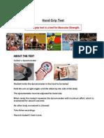 hand grip test