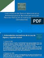 El aprovechamiento de las aguas y régimen de concesiones a la luz de la declaratoria de las aguas como de dominio público, por Francisco Bolinaga