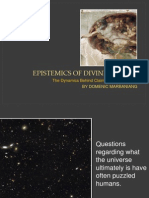 Epistemics of Divine Reality (Synopsis)