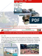 La institucionalidad venezolana en materia de aguas, por Ligia Galiz