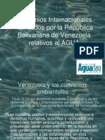 La contaminación química del agua y los convenios internacionales relacionados, por María Eugenia Gil