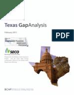 Texas Gap Analysis MASTER