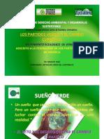 Los partidos verdes y el Cambio Climático, por Manuel Díaz