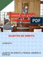 SUJEITOS DE DIREITO