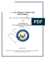 Gillibrand Disaster Relief Funding Assistance Guidebook