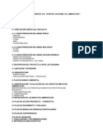 Q-estudio de Impacto Ambiental Hospital