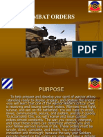 Combat Orders PPT