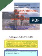Analisis Tiempo Historia No Lineal