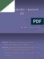 2. Relatia Medic - Pacient (I)