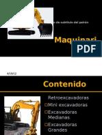 Maquinaria-Excavacion