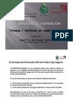 Jornada Adj Sp - Caja Segovia -Superioridad
