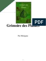 Grimoire de Plantes