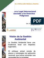 Marco Legal Internacional relativo a Seguridad Química, por Silvia Acuña