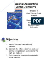 4 CVP Analysis