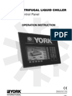York OptiView Operating Instructions