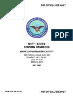 North Korea Country Handbook