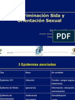 Discriminacion Sida y Orientacion Sexual