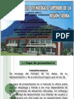CAPA DE PRESENTACIÒN