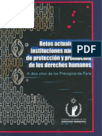 Retos de Las Instituciones de Promociòn de Los Derechos Humanos