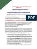 Los Docentes Funciones Roles Competencias Necesarias Formacion