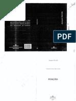Posições _Derrida