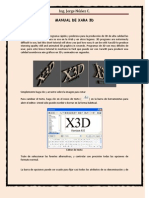 Manual Xara 3d