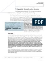 Cisco IT Case Study Active Directory