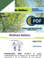 Bionator de Balters - Ortopedia