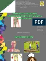 Problemas de los Musculos y Huesos en los niños y Adolescentes