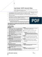 Referencing Guide Agps Harvard