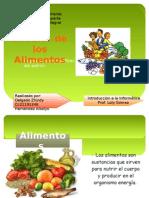 Presentacion El Valor de Los Alimentos