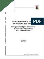 Estrategia Global Contra La Obesidad (Ego- Chile)