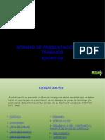 Normas Icontec Presentacion Trabajos Escritos