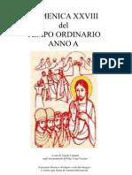 1 p. Proprium Missae 28.ma Dom del TO / A