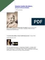 Gandi, Nehru ,Indira