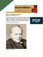 Raúl Porras Barrenechea -Oro y leyenda del Perú. Por Hugo Vallenas