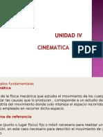 UNIDAD III-cinematica