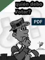 FOLLETO ELECCION 2011