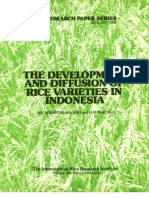 IRPS 71 The Development and Diffusion of Rice Varieties in Indonesia