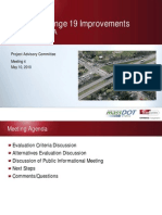 10-5-10 Project Advisory Commitee I-91 Exit 19 Improvements