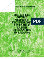 IRPS 42 The Effect of the New Rice Technology on Family Labor Utilization in Laguna