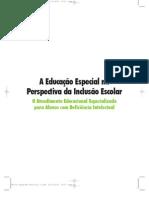 O ATENDIMENTO EDUCACIONAL ESPECIALIZADO PARA ALUNOS COM DEFICIÊNCIA INTELECTUAL