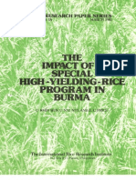 IRPS 58 The Impact of a Special High-Yielding-Rice Program in Burma