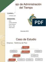 Trabajo Admin is Trac Ion Del Tiempo 12 12