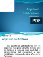 Calificativos