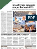 AE - BIS Bolsas voláteis com retirada de estímulos dos Governos 01.01.10