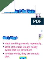 7 Habits Good Says