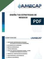 Diseña tus estrategias de negocio - Diana Vitte - AMECAP