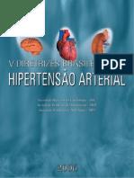 Livro - V Diretrizes Brasileiras Hipertensao Arterial - 2006